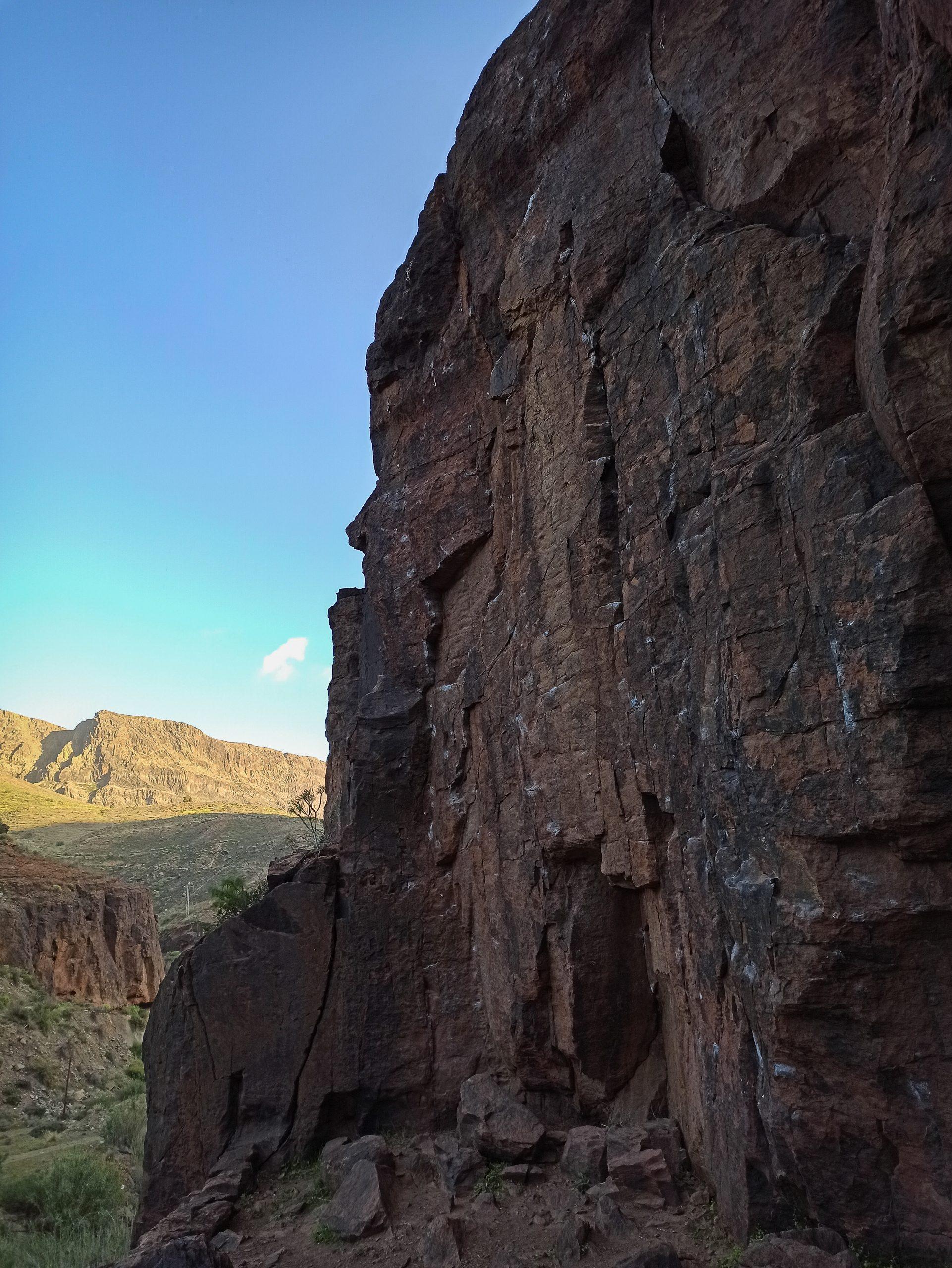 Klettern auf Gran Canaria - Fataga