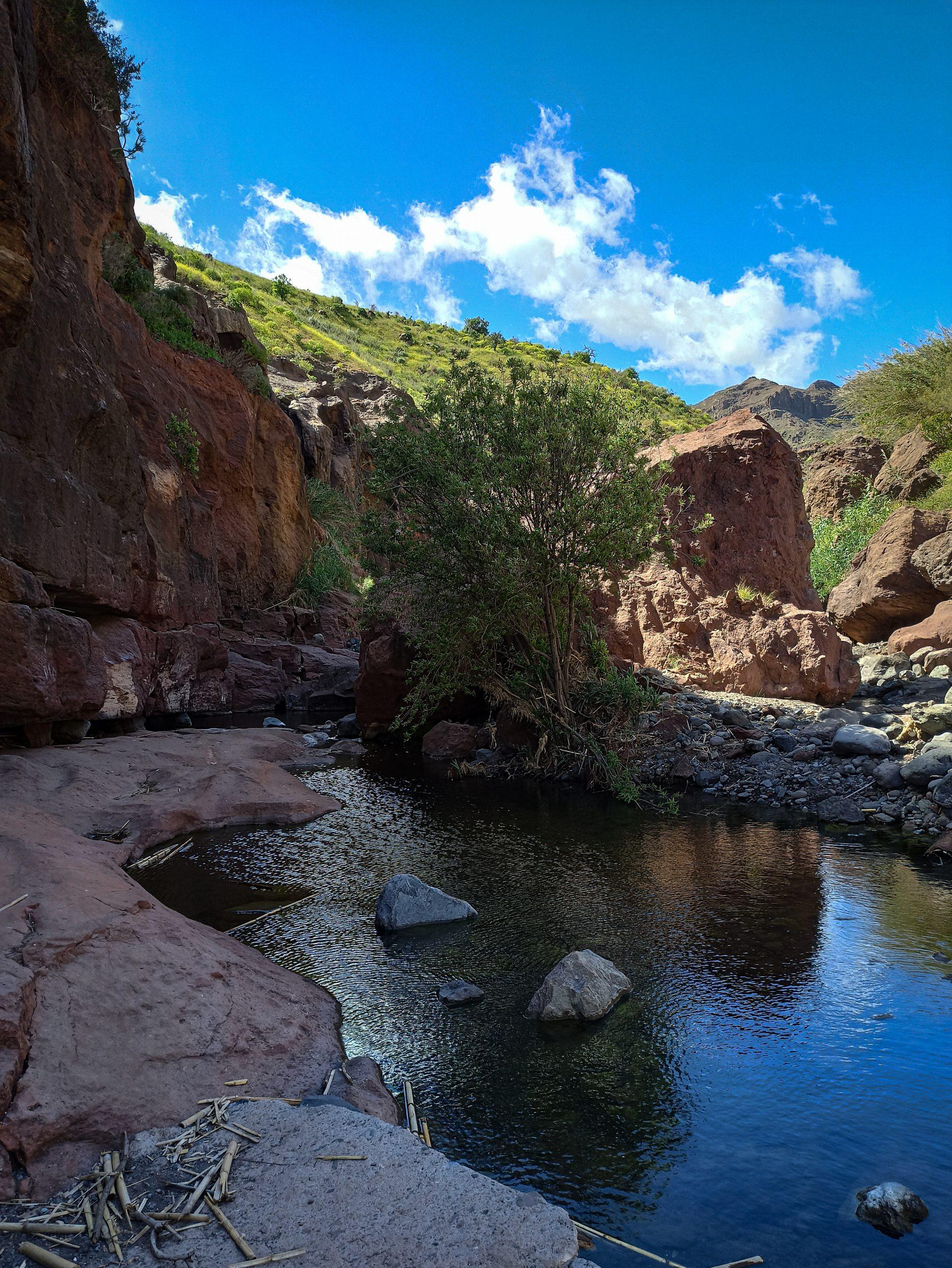 Klettern auf Gran Canaria - La Sorrueda