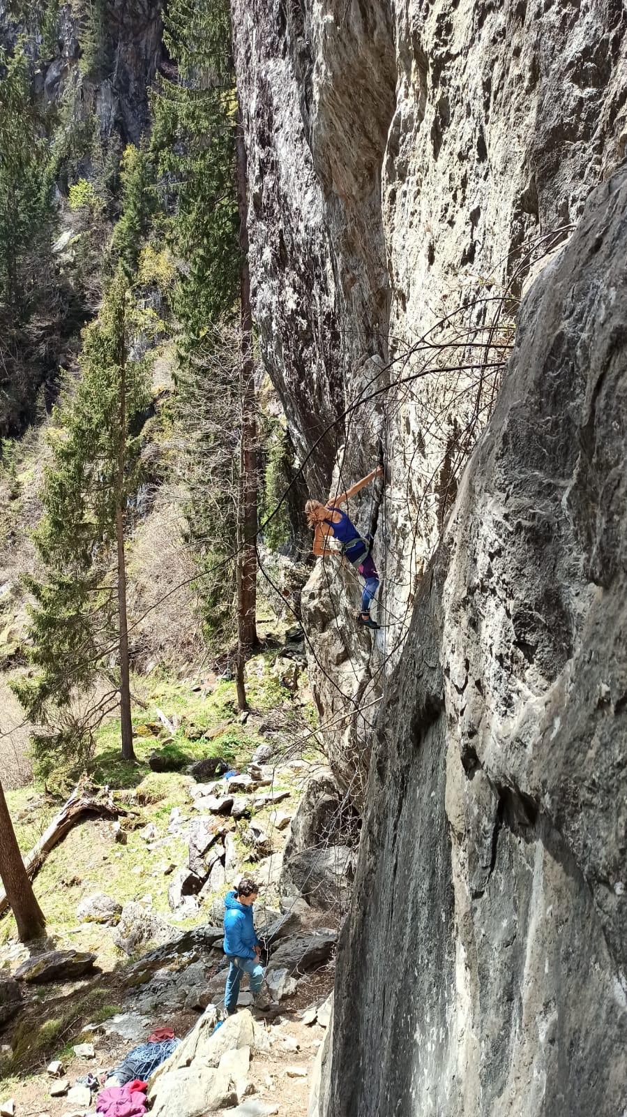 Mit dem richtigen Sicherungspartner gibt es einen Grund weniger für Sturzangst beim Klettern
